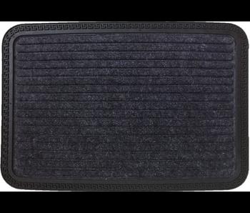 Tapis Crète anthracite 40x60