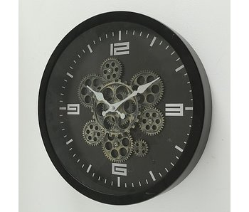 Horloge murale - fer -  38cm