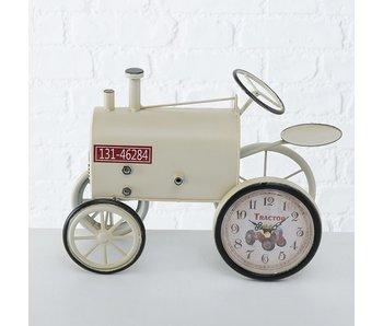 Bureauklok Trecker | crème | 23 cm