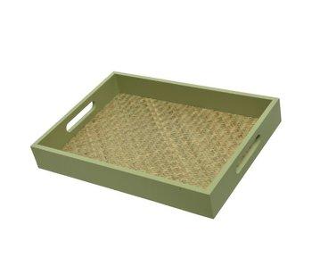 Dienblad groen | Large 36x26 cm