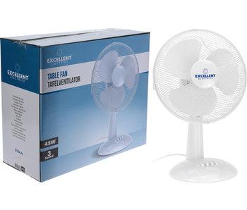 Ventilator tafelmodel  30cm - wit