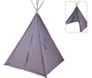 Tente tipi gris 103x103x160