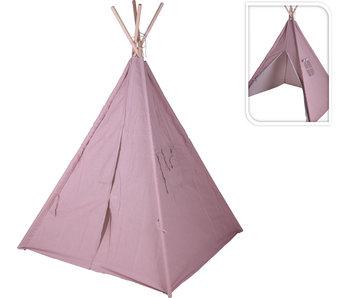 Tipi tent roze  130x130x160