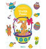 Joyeuses Pâques (coloration créative)