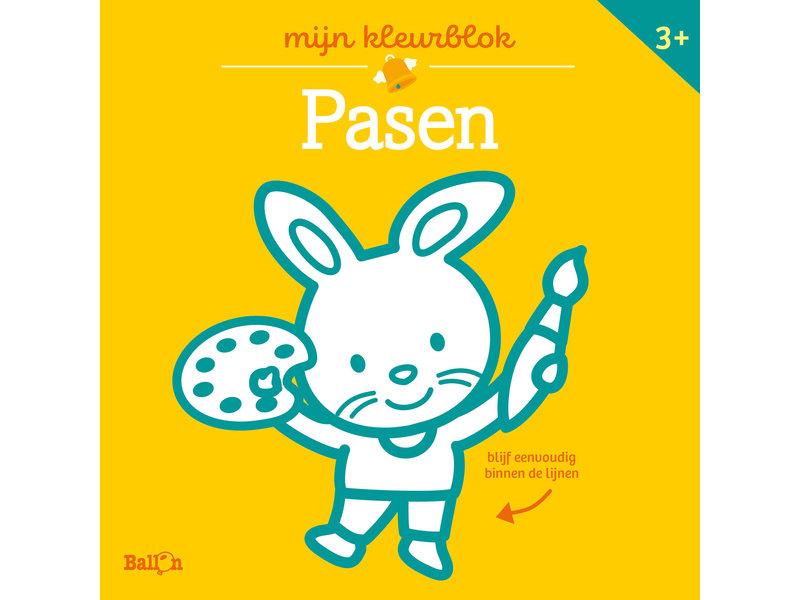 Kleurblok Junior Pasen