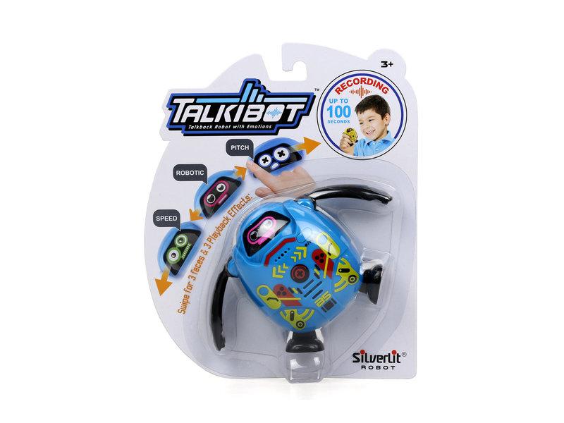 Talkibot blue