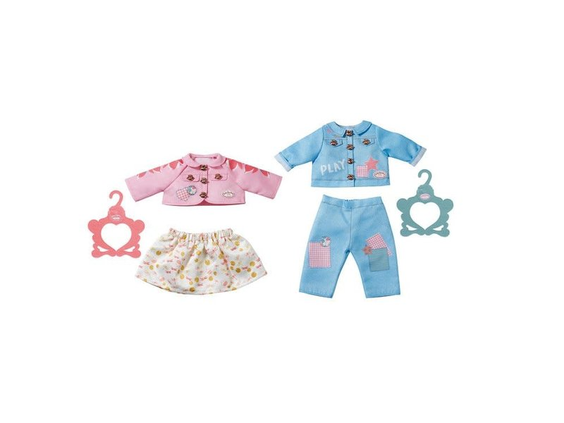 Baby Annabell Outfit roze rok en vest