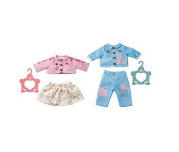 Baby Annabell 43 cm Outfit blauw - broekje en vest