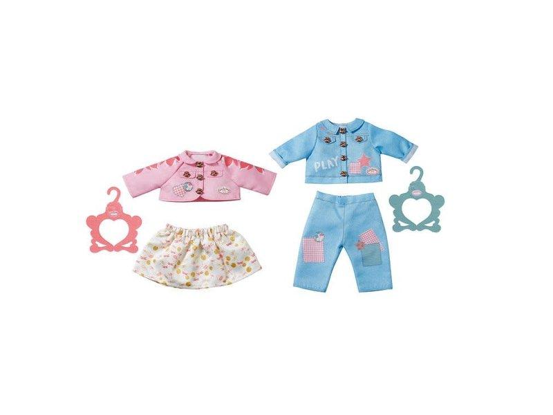 Baby Annabell Outfit blauw broekje en vest