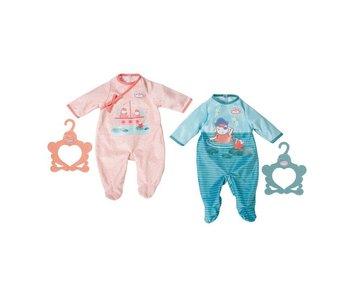 Baby Annabell 43 cm -  romper 1  -  blauw