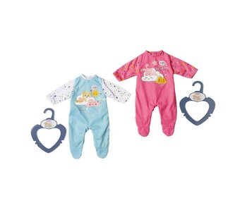 Baby Born 36cm little night outfit - roze