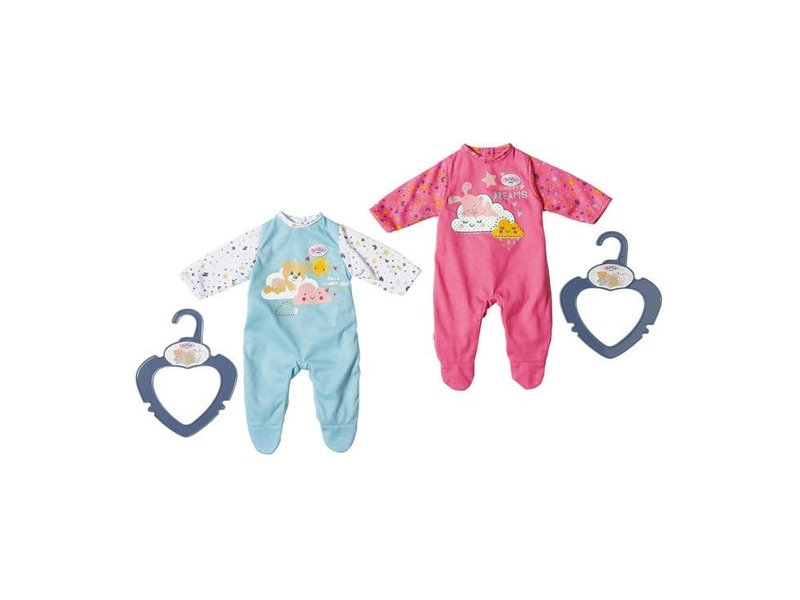 Copy of Baby Born little night outfit - blauw