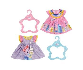 Baby Born 43 cm - jurk 1 - paars