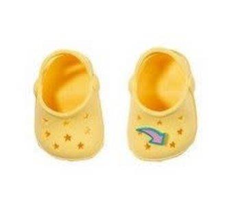 Baby Born GEEL - schoenen met pins