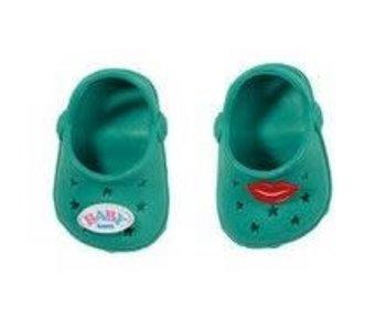 Baby Born GROEN - schoenen met pins
