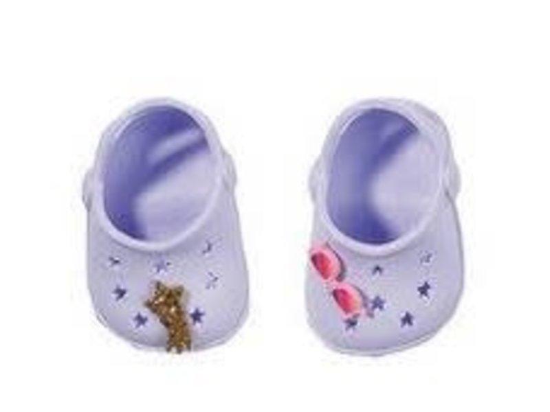 Baby Born - licht PAARS - schoenen met pins