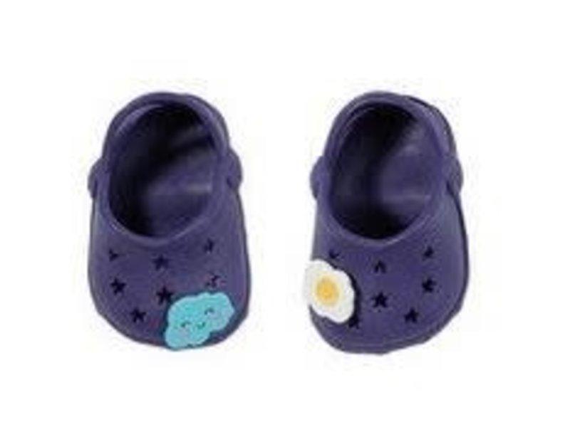 Baby Born - donker PAARS - schoenen met pins