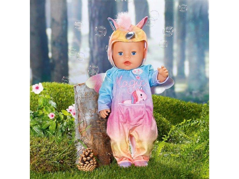 Baby Born 43cm  unicorn onesie