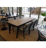 Table de jardin Manor 220x90 teak top