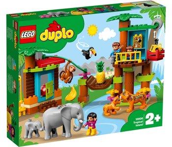 Tropisch eiland Lego Duplo 10906