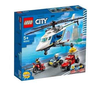 City politiehelikopter achtervolging 60243