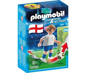Playmobil 18 PLAYMOBIL 6898 JOUEUR EQUIPE ANGLETERRE