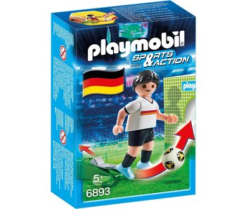 Playmobil 18 PLAYMOBIL 6893 JOUEUR EQUIPE ALLEMAGNE