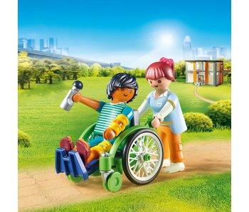 Playmobil Patient en fauteuil 70193