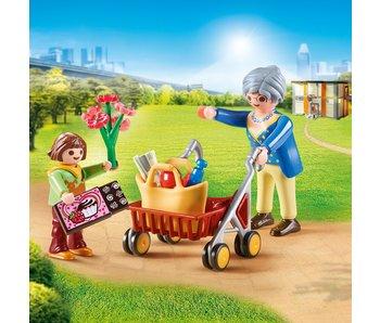 Playmobil Petite fille & grand-mère 70194