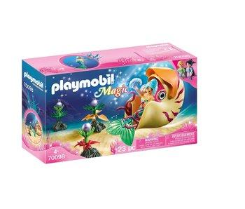 Playmobil Zeemeermin met zeeslakkengondel 70098