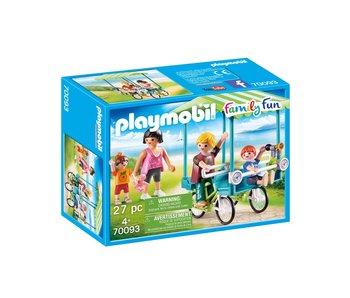 Playmobil Vélo de famille 70093