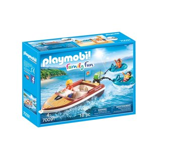 Playmobil motorboot 70091