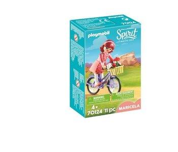 Playmobil Maricela en vélo 70124