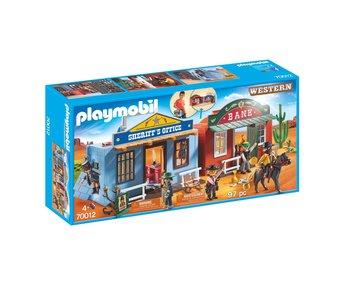 Playmobil Plats à emporter Western city 70012