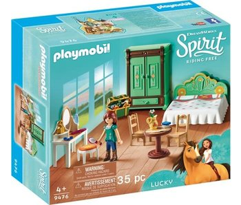 Playmobil Lucky's chambre à coucher9476