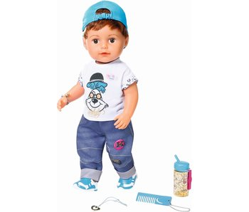 Baby born soft touch broer  - 43 cm