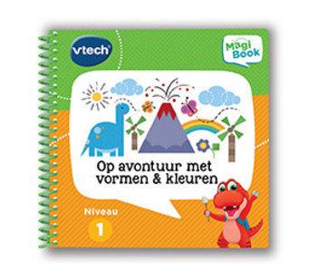 Vtech Magibook boek - op avontuur vormen en kleuren