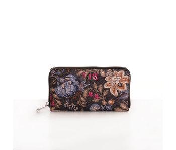 Lilió L zip wallet liquorice
