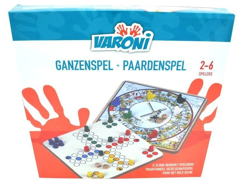 Ganzenspel + paardenspel NL/FR