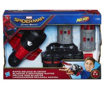 Nerf Spiderman rapid reload Blaster