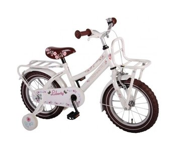 Fiets 14 inch Liberty Girl wit