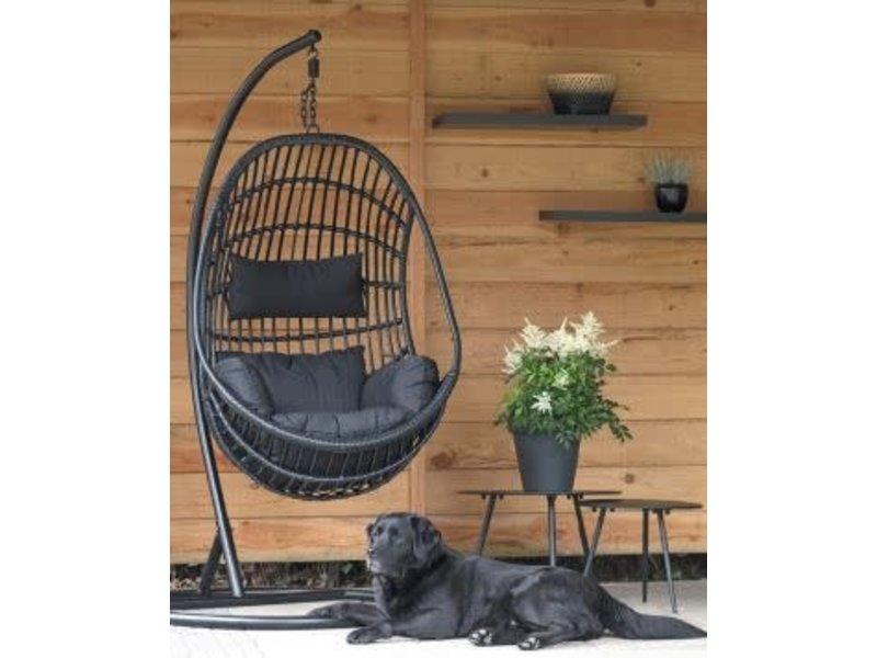 Hangstoel Sturdy - zwart - robusto