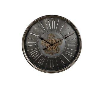 Hamilton Living Horloge murale Radar acier poinçonné 60 cm