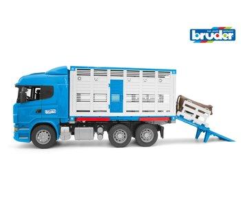 Bruder 3549 Scania R veevervoer