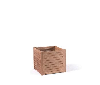 Gescova Planters bac à fleurs en bois  50x50 cm