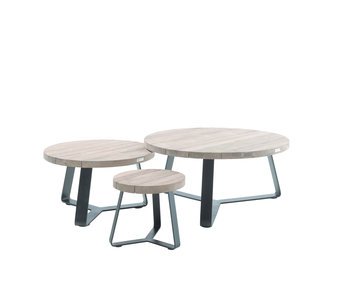 Gescova Margarite table d'appoint - gris anthracite - 100cm