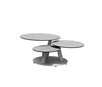 Gescova Silva table d'appoint filage - gris anthracite