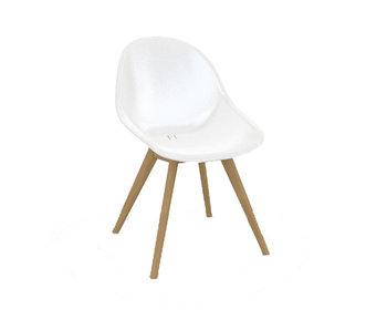 Gescova Stockholm chaise - blanc