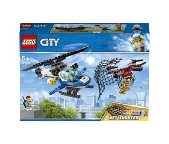 City 60207 luchtpolitie drone achtervolging