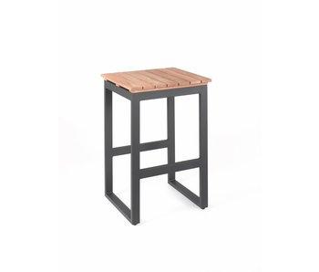 Gescova Chaise de bar Pisa - gris anthracite